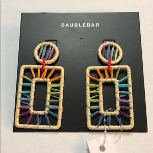 Baublebar Reisa Raffia Drop Earrings
